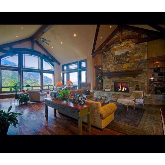 Salt Lake City Utah Homes: Luxury Cabin Interior, Luxury