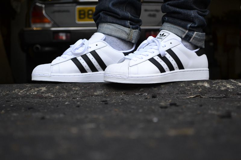 Adidas Superstar 2 White On Feet