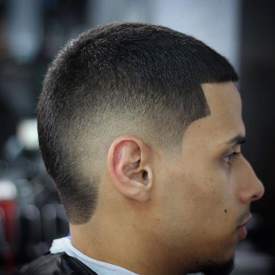 2017 the burst fade mohawk haircut #fadehaircutsformen
