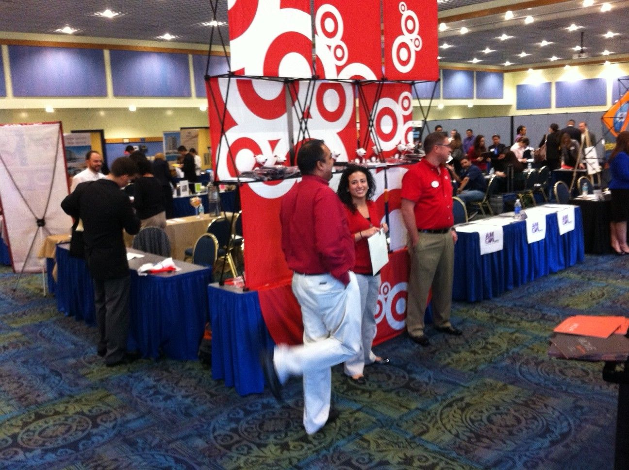 On Target At The Spring 2013 Biscayne Bay Campus Career Fair Last Tuesday Feb 6 We Had More Students Than Ever Come Out Tha Career Guidance Career Biscayne