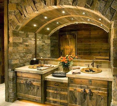 #Gorgeous #Rustic #Bathroom