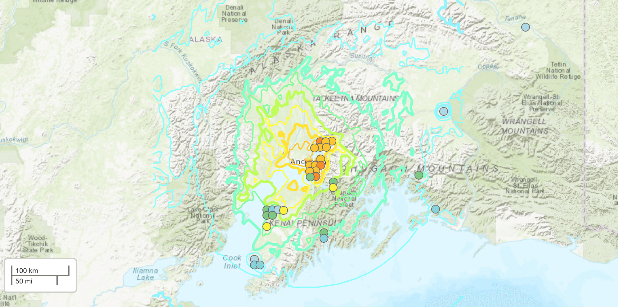 Anchorage Suffered A 7 0 Magnitude Earthquake But Was