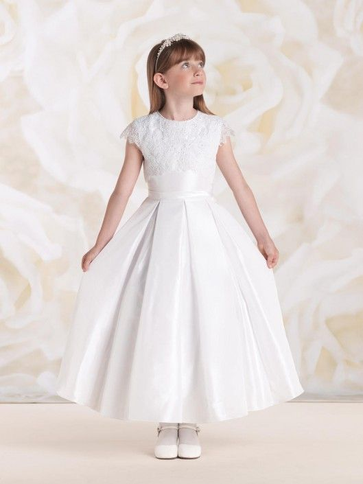 638e1b113f7c Joan Calabrese for Mon Cheri 115314 Girls Communion Dress ...