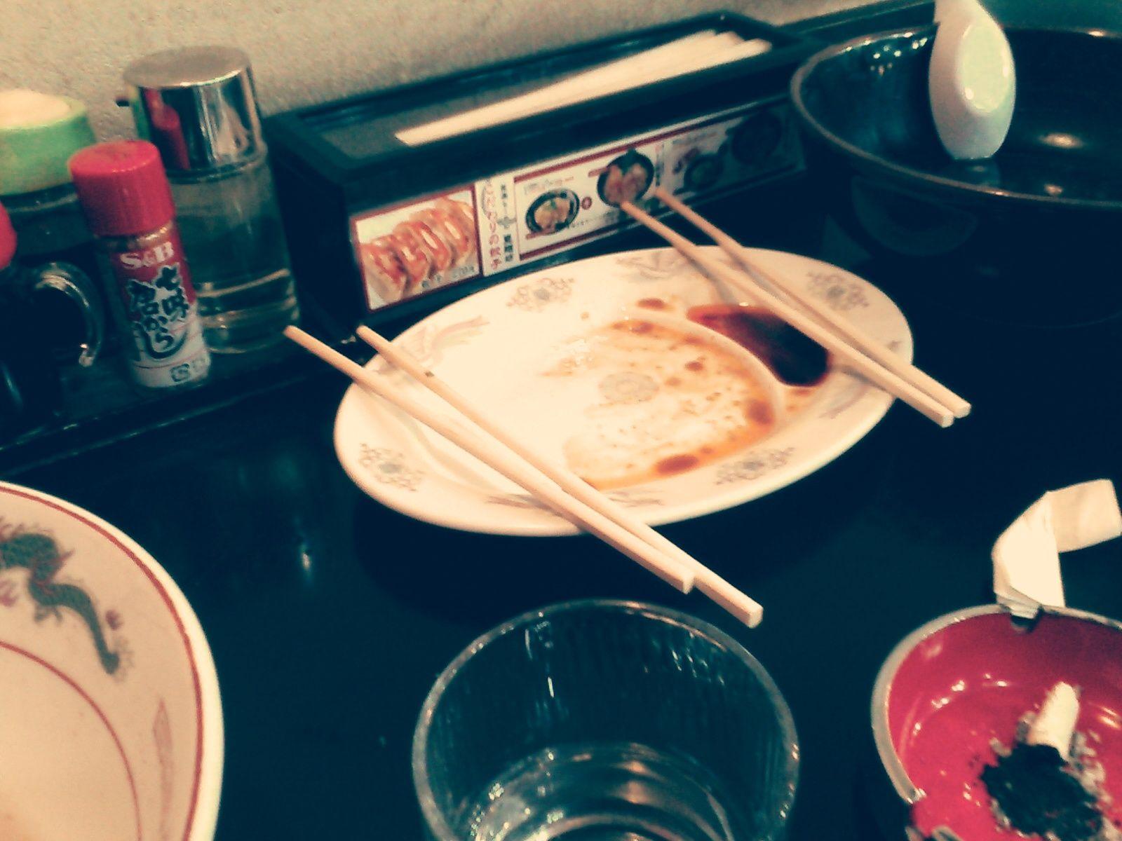 finished!! tokyo style Ramen