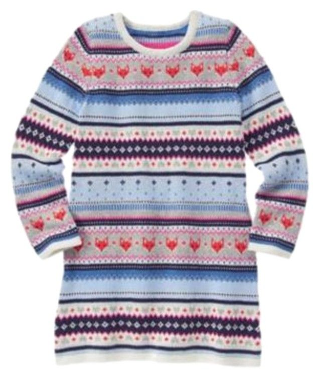 Gymboree Fair Isle Flurry Fox Sweater Dress. Find this and more ...