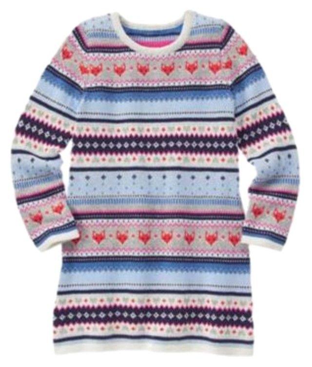 Gymboree Fair Isle Flurry Fox Sweater Dress. | Fox sweater ...