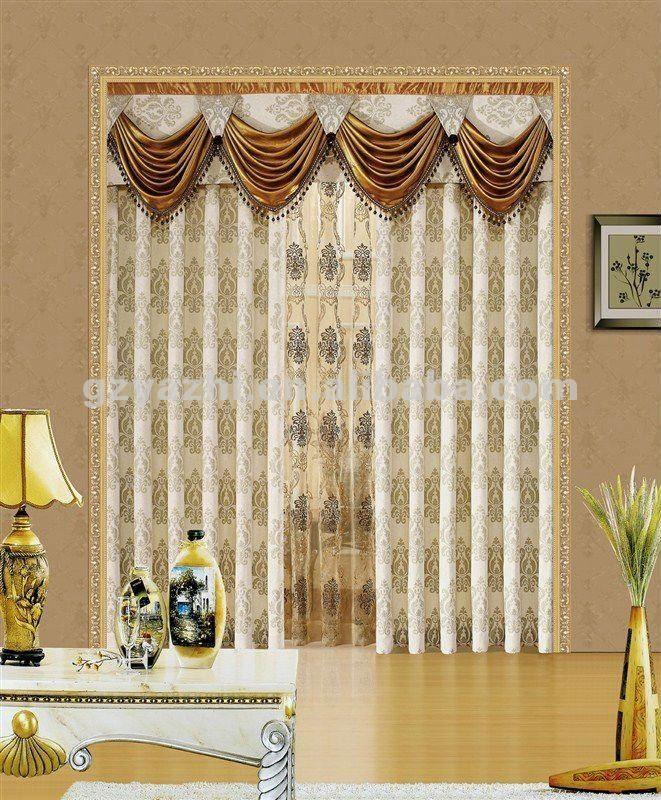 rideau la maison avec la draperie europ enne simple et g n reux rideaux id du produit. Black Bedroom Furniture Sets. Home Design Ideas