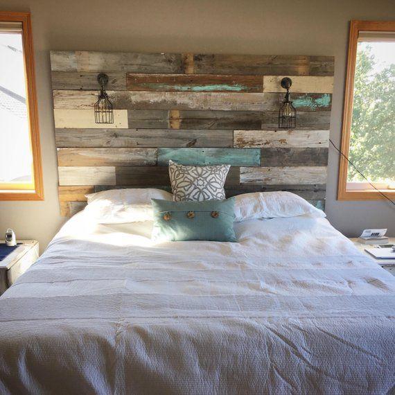 Farmhouse Rustic Chippy Paint Cottage Whitewashed Grey Blue