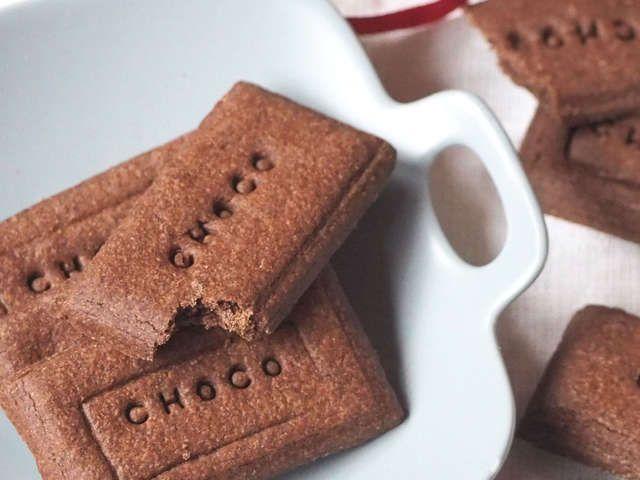 レシピ ココア クッキー