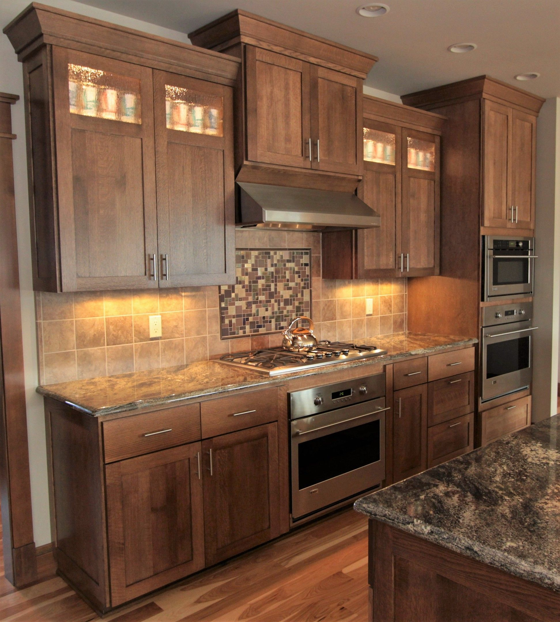 Buying kitchen cabinets seems like an easy task. thumb kitchen shaker style quartersawn oak recessed panel ...