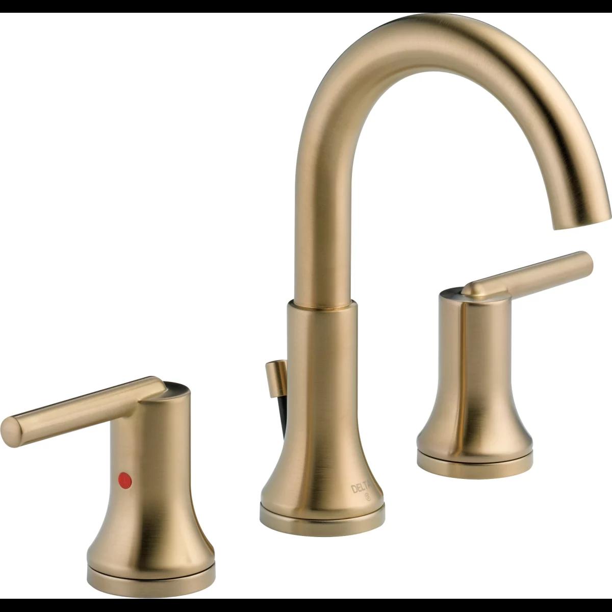 Delta 3559 Mpu Widespread Bathroom Faucet High Arc Bathroom