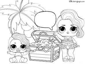 Image Result For Lol Surprise Coloring Pages Haileys B Day
