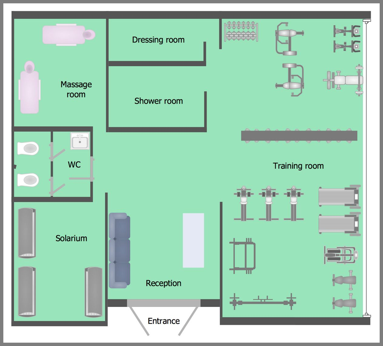48 Reference Of Dressing Room Design Layout Floor Plans Floor Plans Floor Plan Layout Gym Plans