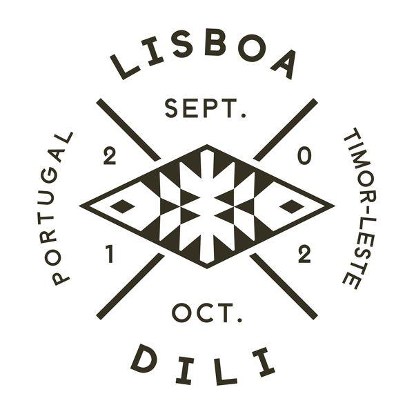 Lisboa-Dili Logotype by MusaWorkLab , via Behance