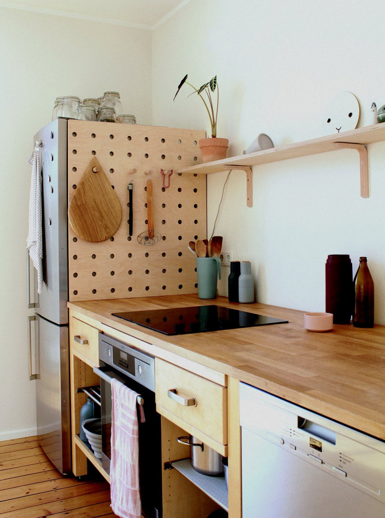 Ikea Küche Dekore Kitchen Of The Week An Artful Kitchen Created From Reclaimed Ikea