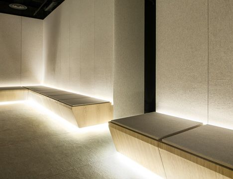 Alex Cochrane Architects No Noise At Selfridges London Design Journal London Design Minimalism Interior Lounge Design
