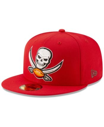 New Era Tampa Bay Buccaneers Logo Elements Collection 59FIFTY Fitted Cap -  Red 7 53541b2ad