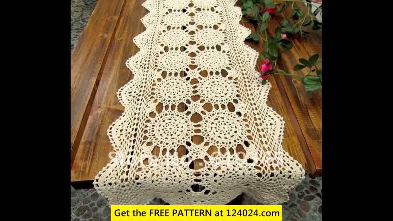 Crochet Tablecloth Patterns For Beginners Crochet Tablecloth Easy