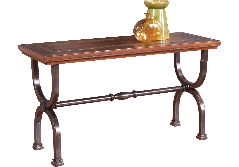 Sean Brown Sofa Table - Sofa Tables Dark Wood | RTG LR CASEGOODS in ...