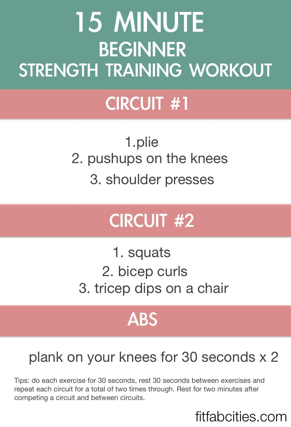 Workout Routine For Beginners At Home
