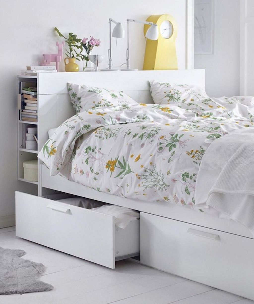 20+ Newest Bedroom Storage Design Ideas For Small Space
