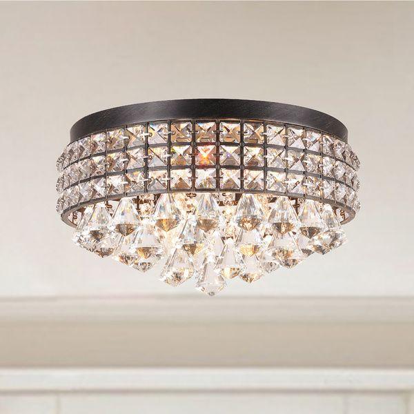 Flush mount lighting for less