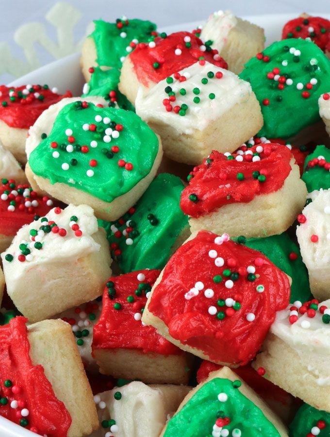 Christmas Sugar Cookie Bites | Recipe | Christmas Food | Pinterest ...
