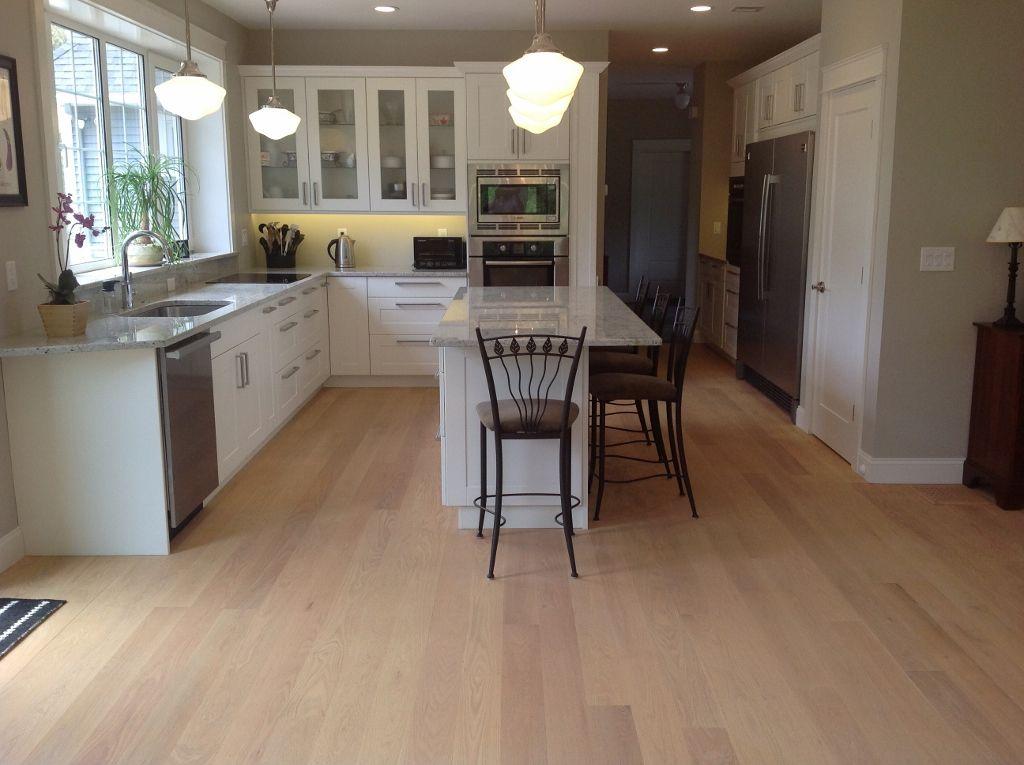 Rubio Monocoat Hard Wax Matte Oil Finish On This Kitchen