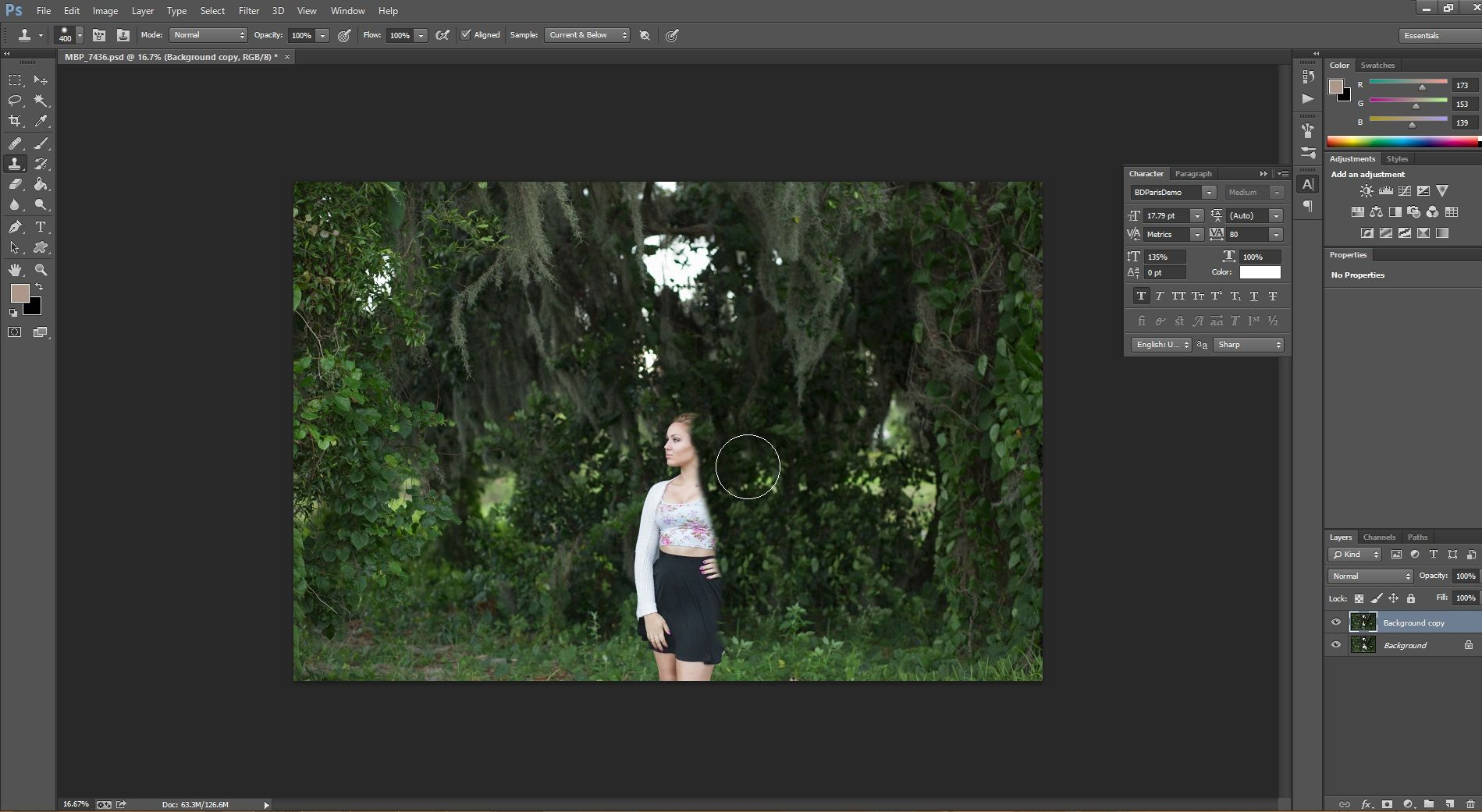 How To Add Believable Background Blur In Photoshop Morgan Burks Photoshop Lightroom Tutorial Photo Editing Lightroom Blur Background In Photoshop