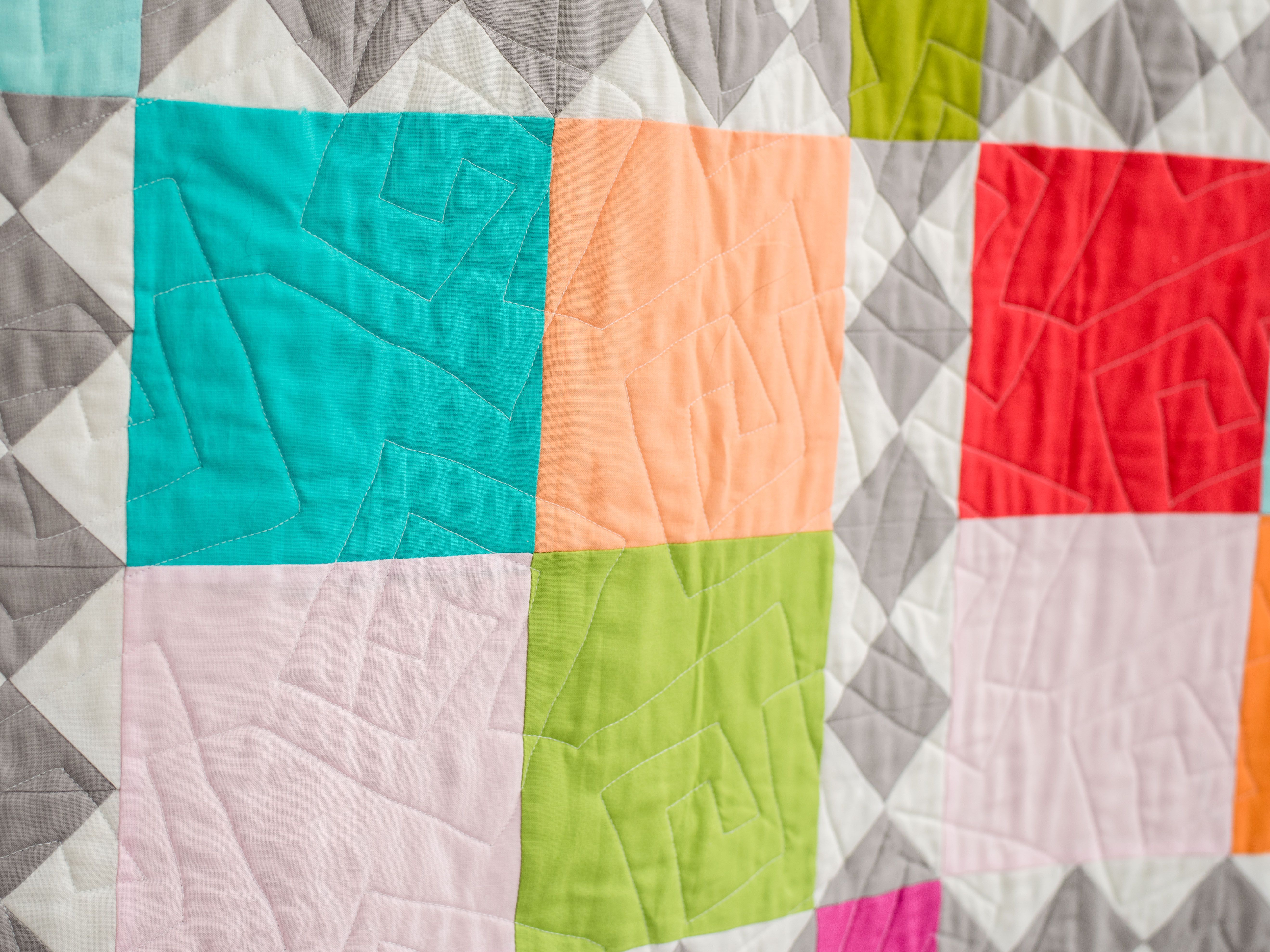These Simple Free Motion Quilting Designs Are Perfect For