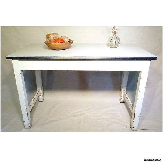 vintage kitchen work table   canning table   island   farmhouse kitchen   rustic   chippy vintage kitchen work table   canning table   island   farmhouse      rh   pinterest com
