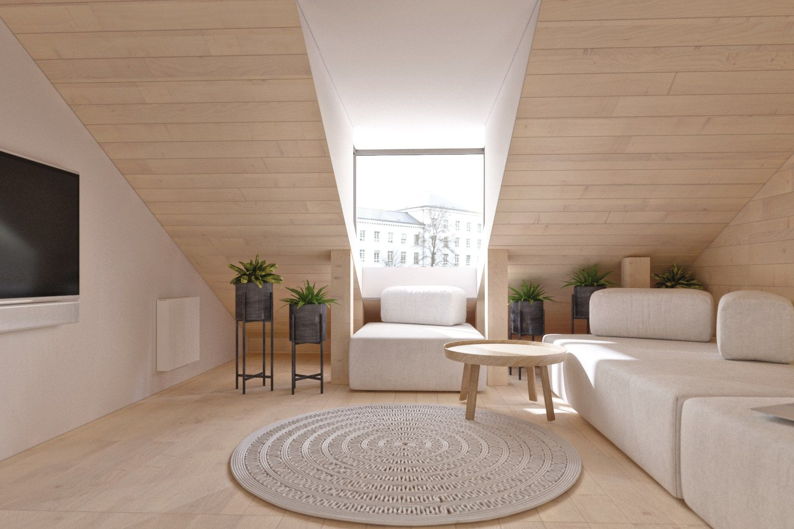Apartment In The Historical Center Of Kiev By Da Group Architecture Attic House Attic Flooring Apartment Design