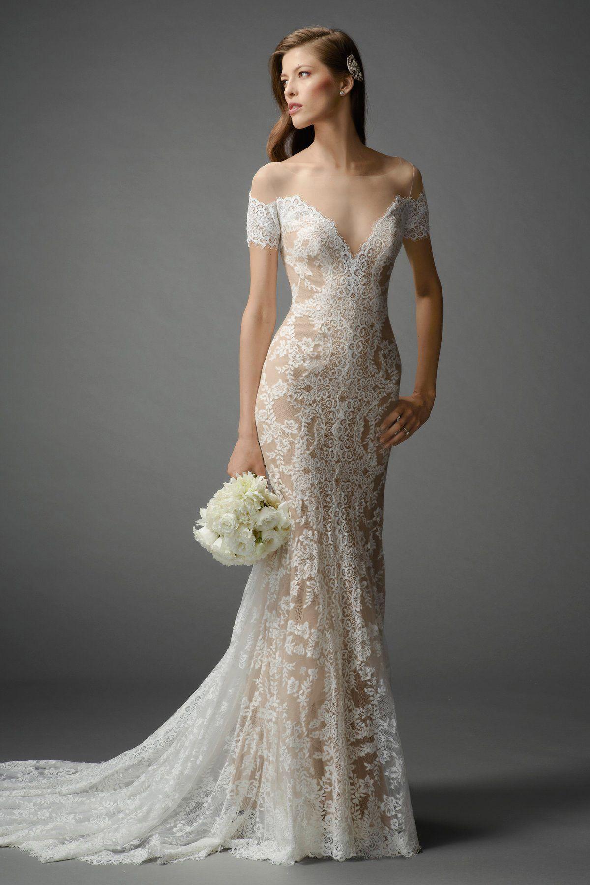 Watters Brides Mila Gown w/ Bronze lining | Inspiração usar | Pinterest