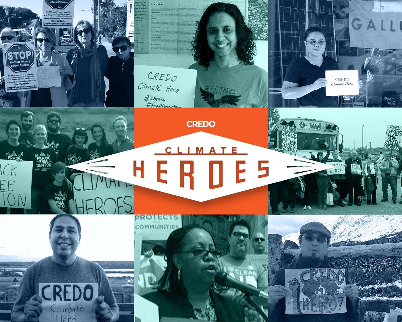 Meet The Credo Climate Heroes