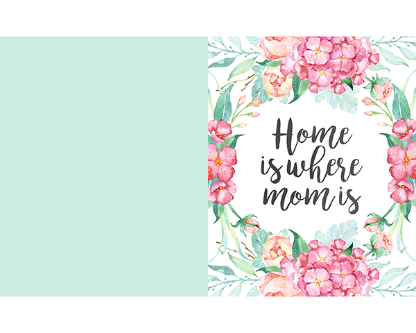 Free Printable Mother S Day Prints And Cards The Cottage Market Unique Birthday Cards Printable Greeting Cards Free Mothers Day Cards