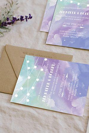 40 Most Charming Lavender Wedding Ideas Elegantweddinginvites Com Blog Trendy Wedding Invitations Watercolor Wedding Invitations Inexpensive Wedding Invitations