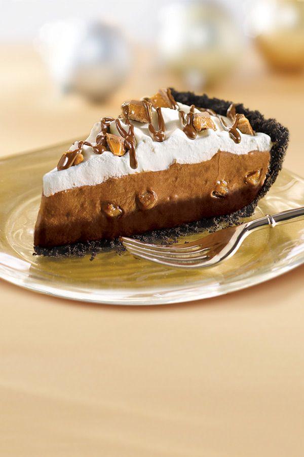 Fudge bottom pie recipe