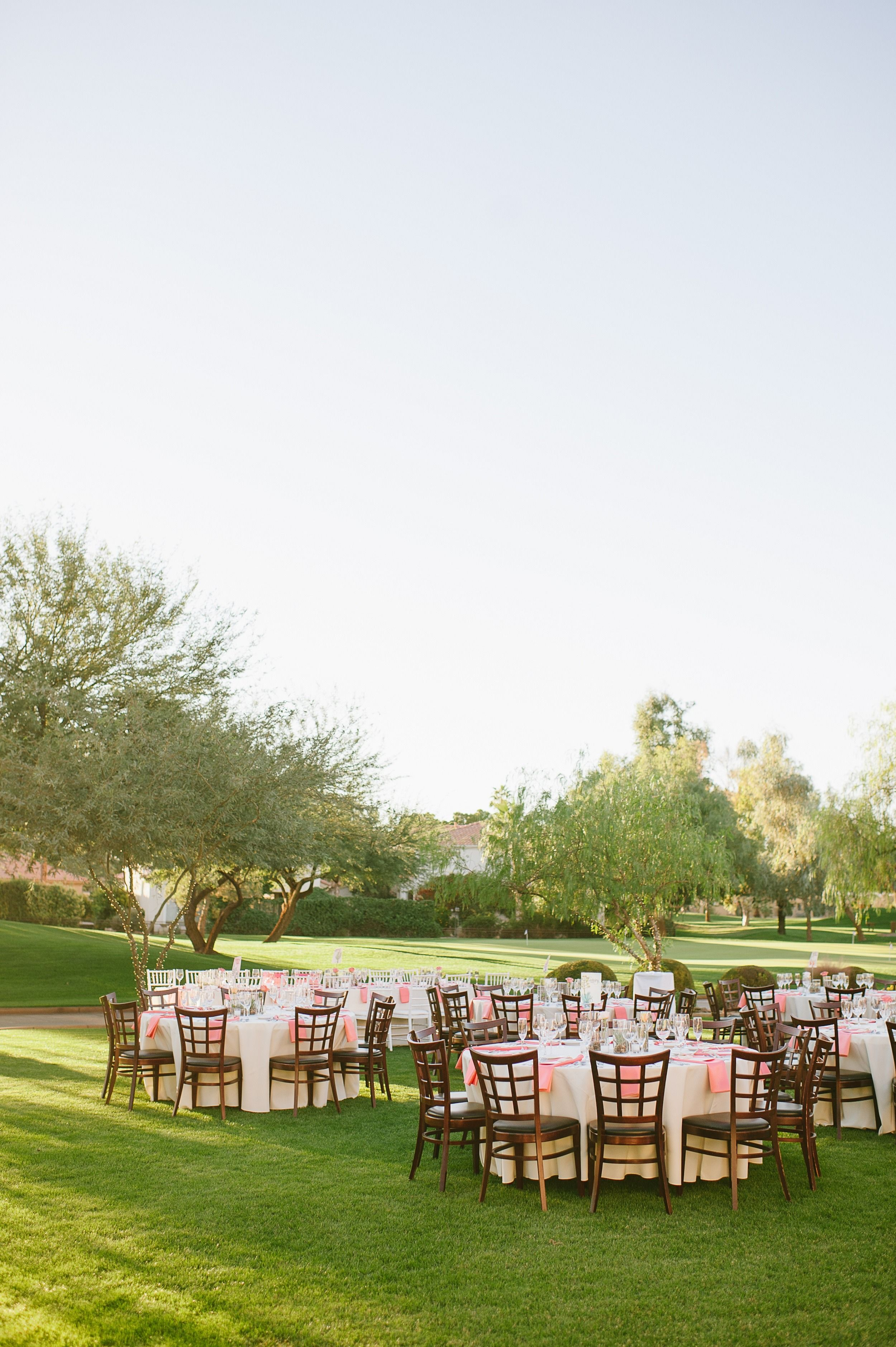 Budget friendly diy scottsdale country club wedding gardens