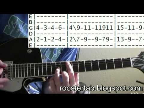 Memorial Day Guitar lesson - http://roostertab.blogspot ...