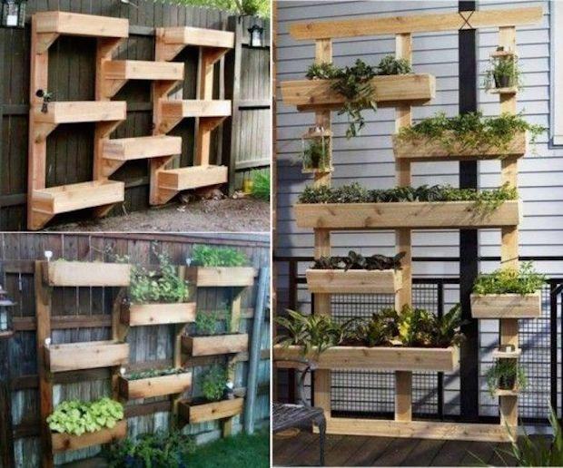 jardines-verticales-8 Plantas Pinterest Jardín vertical
