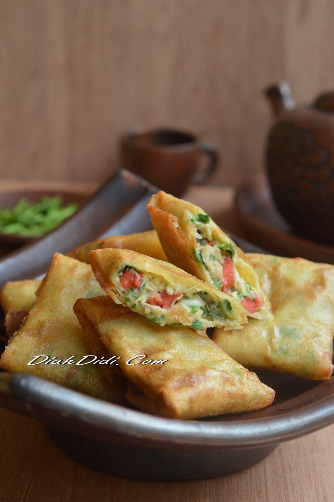 Diah Didi S Kitchen Martabak Mini Sosis Resep Masakan Ramadhan Fotografi Makanan Ide Makanan