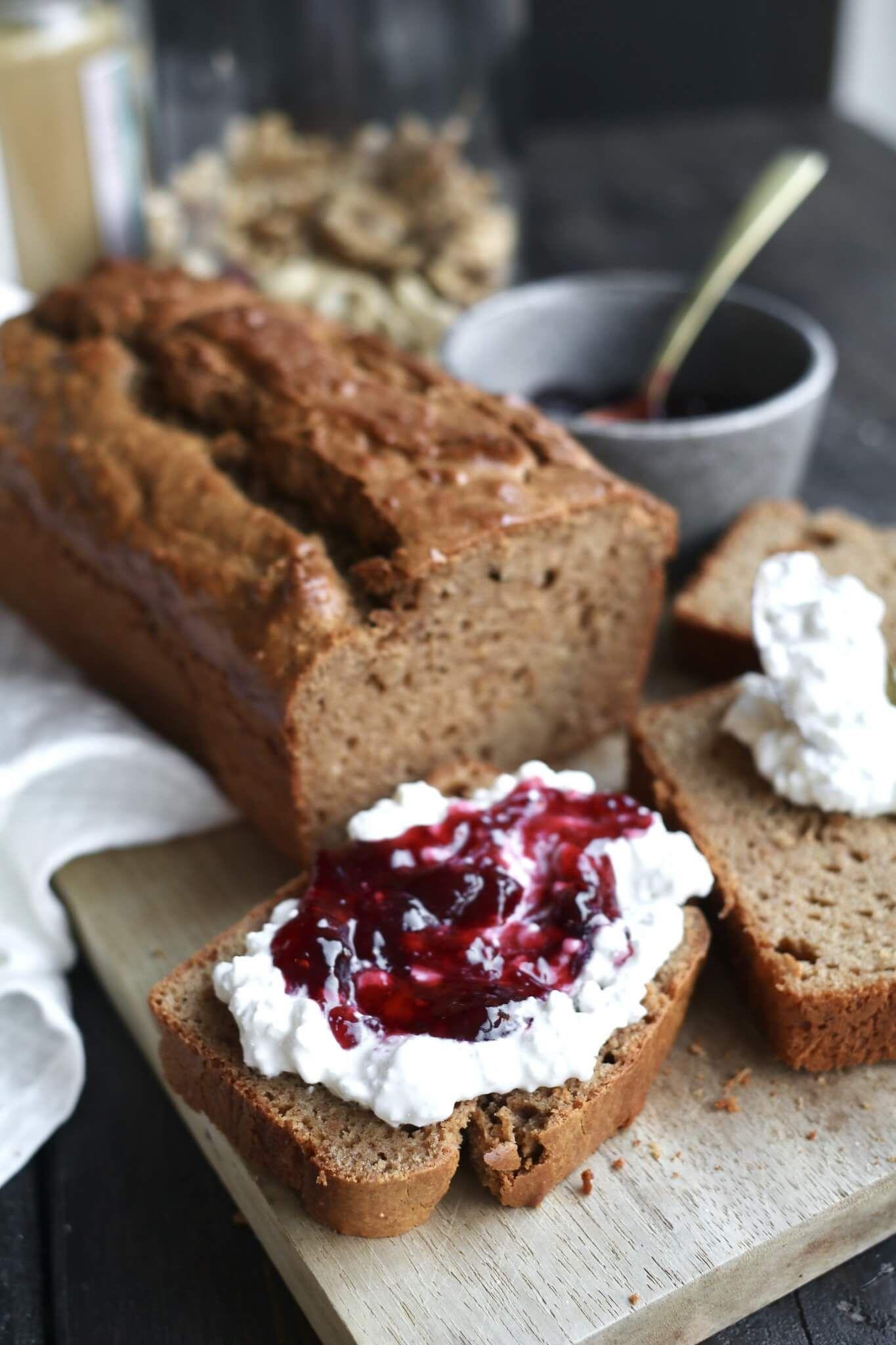 Koolhydraatarm notenpasta brood - Beaufood