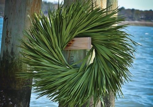 Party Decorating With Palm Leaves Google Search Fish