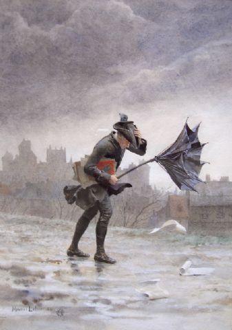 """""""The Wlak Home"""" by Maurice Leloir"""