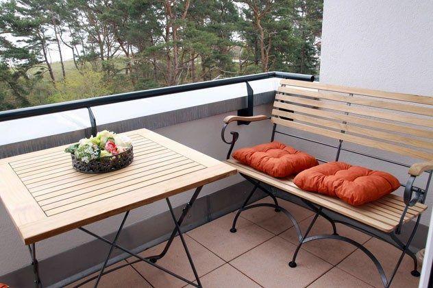 Rügen Haus Meeresblick Ferienwohnung Balkon Ref. 134062