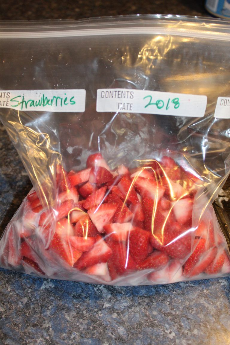 How to freeze strawberries properly gently sustainable