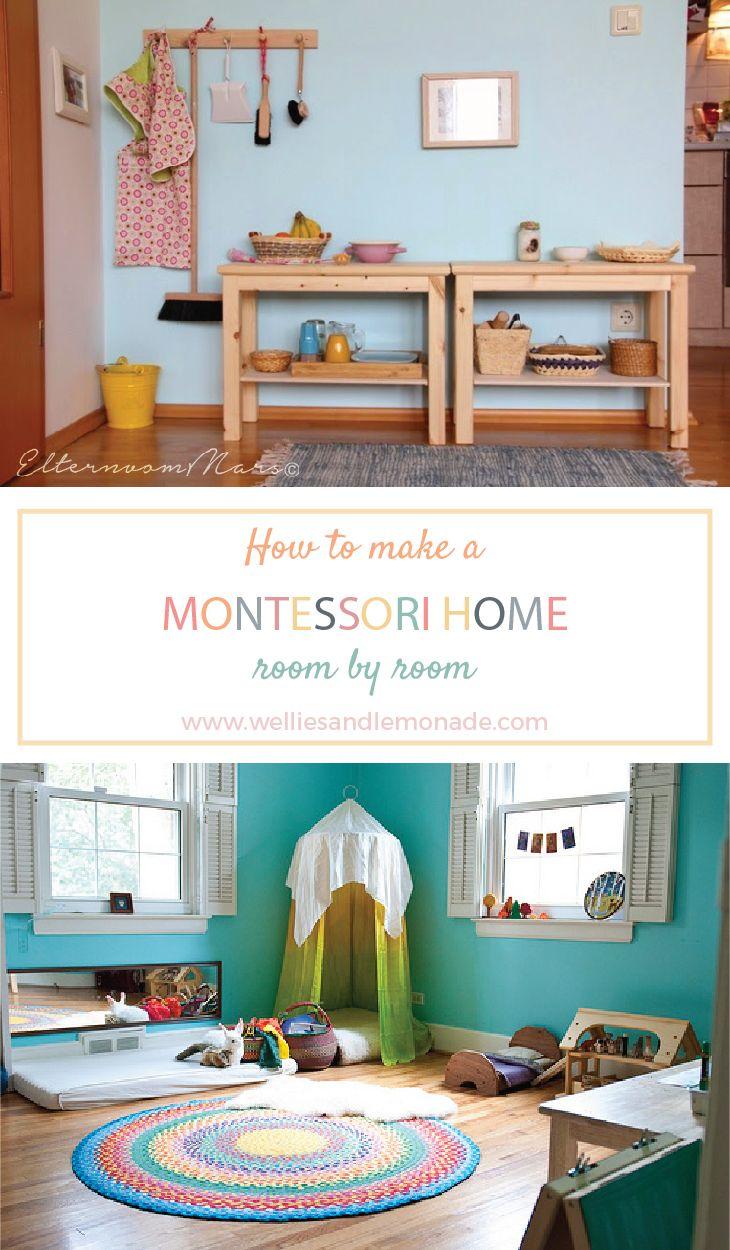 How to make a Montessori home room by room Montessori