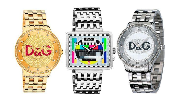 9a0c90bef861 Relojes Dolce Gabbana para hombre o mujer desde 89