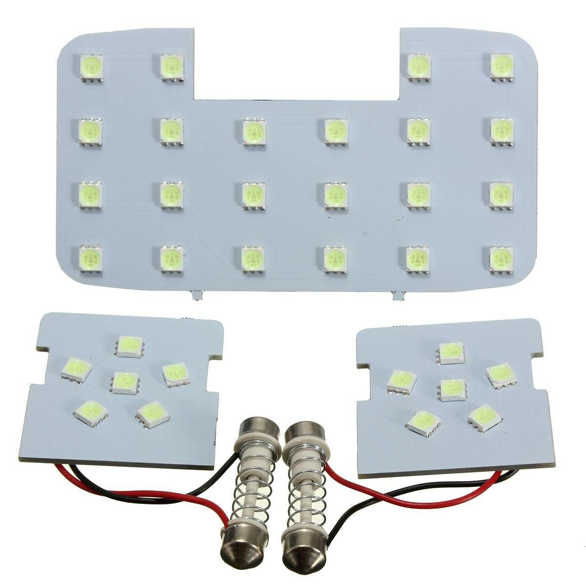3PCS/Set Blue Car reading lights dome lamps LED interior suitable ...