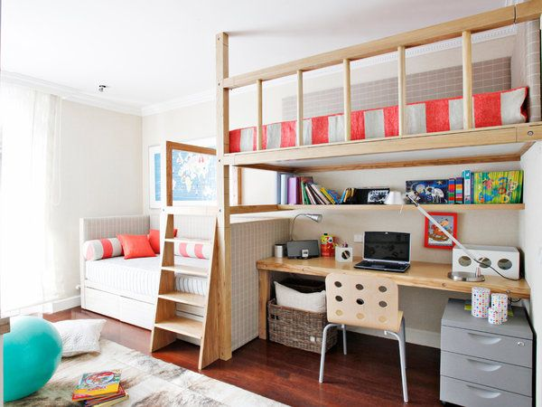 Ocho Literas Infantiles Súper Prácticas Habitació Nenes
